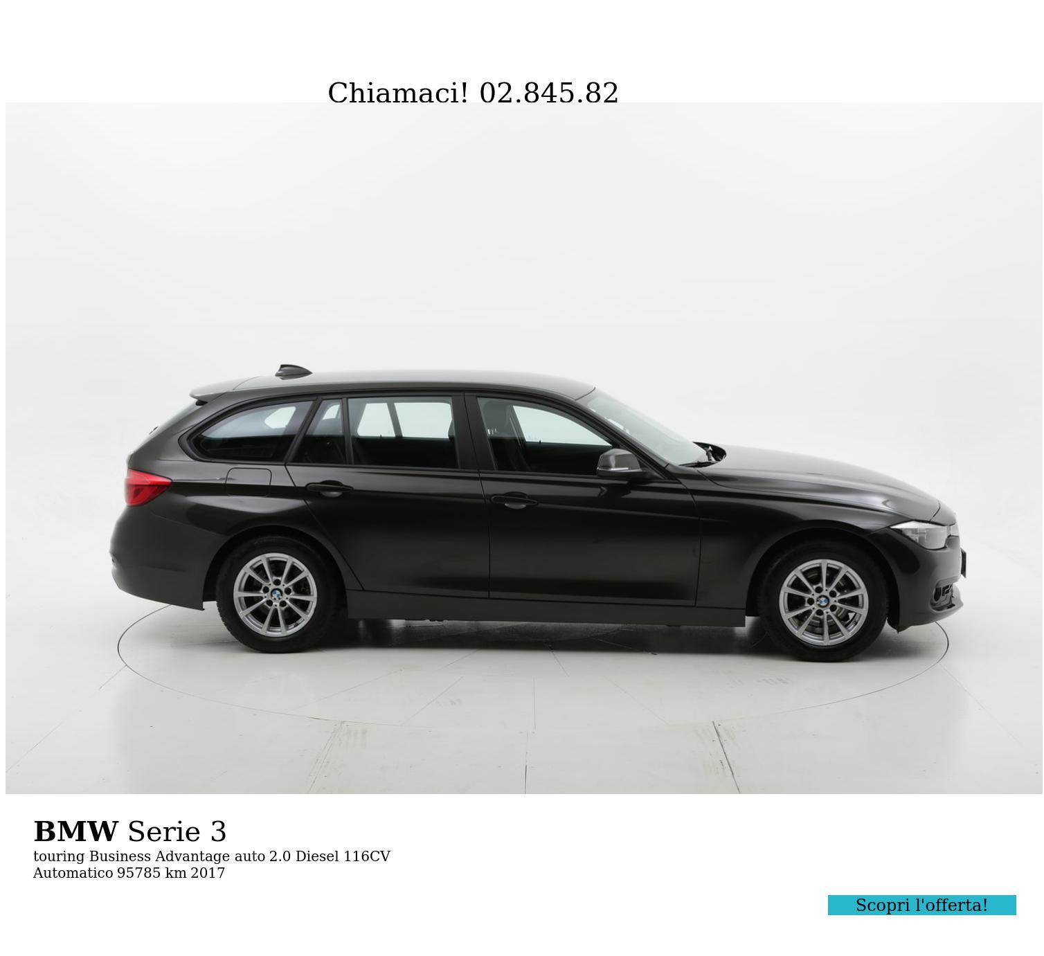 BMW Serie 3 usata del 2017 con 96.406 km | brumbrum