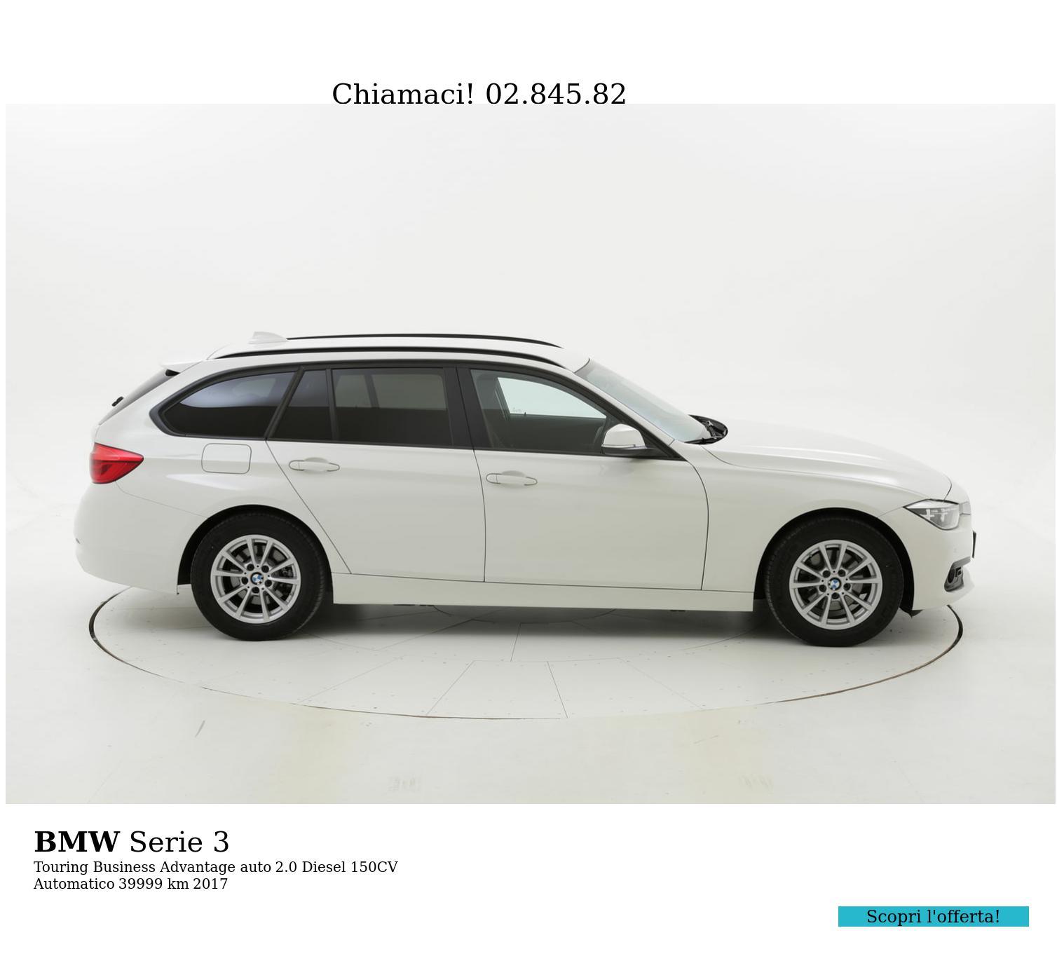 BMW Serie 3 usata del 2017 con 40.384 km | brumbrum