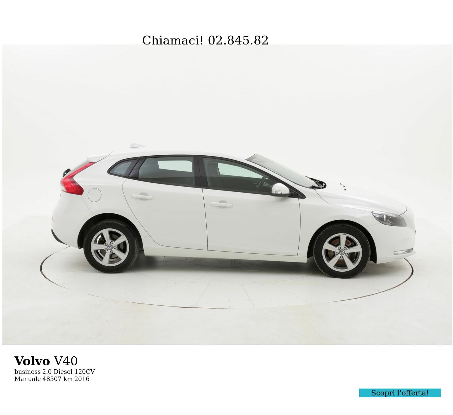 Volvo V40 usata del 2016 con 48.743 km | brumbrum