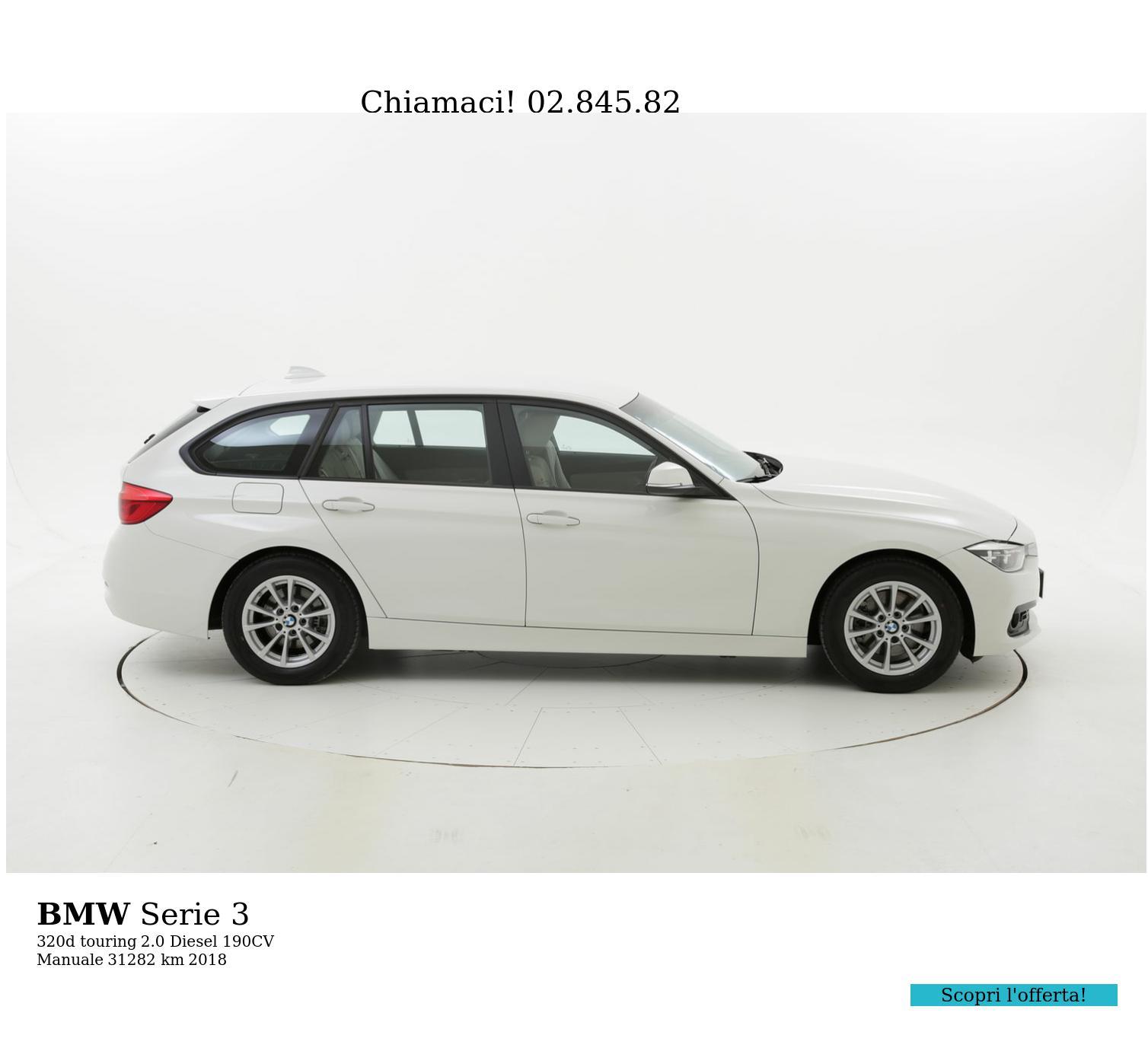 BMW Serie 3 usata del 2018 con 31.351 km | brumbrum