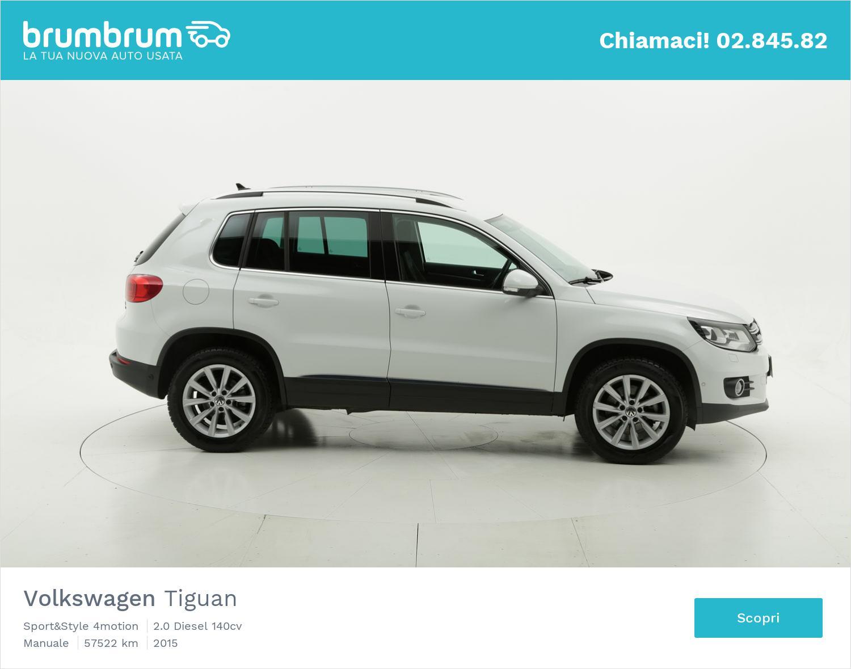 Volkswagen Tiguan usata del 2015 con 57.715 km   brumbrum