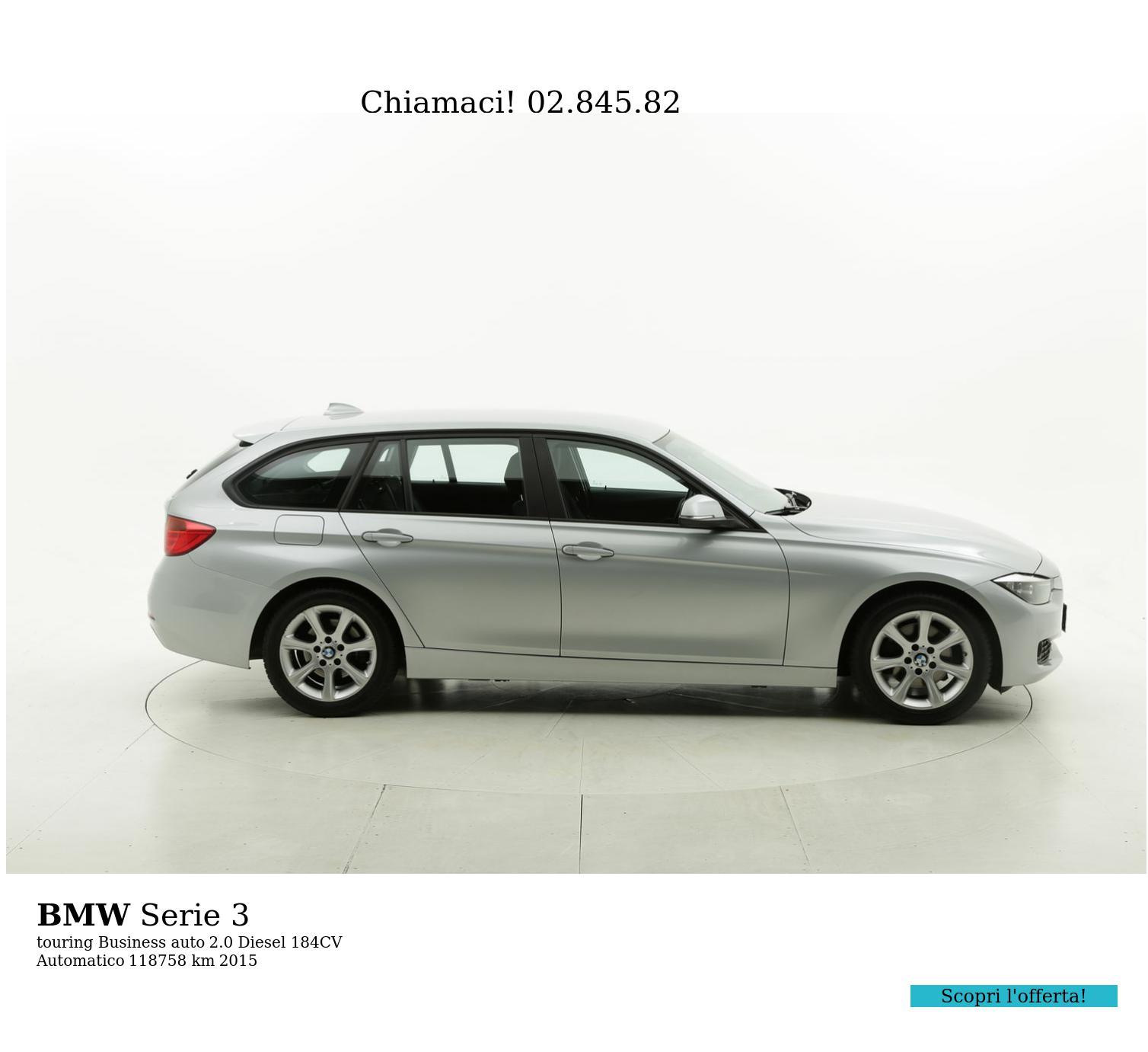 BMW Serie 3 usata del 2015 con 118.791 km   brumbrum