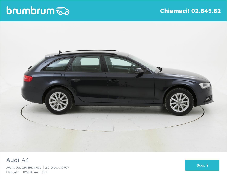 Audi A4 usata del 2015 con 112.705 km | brumbrum