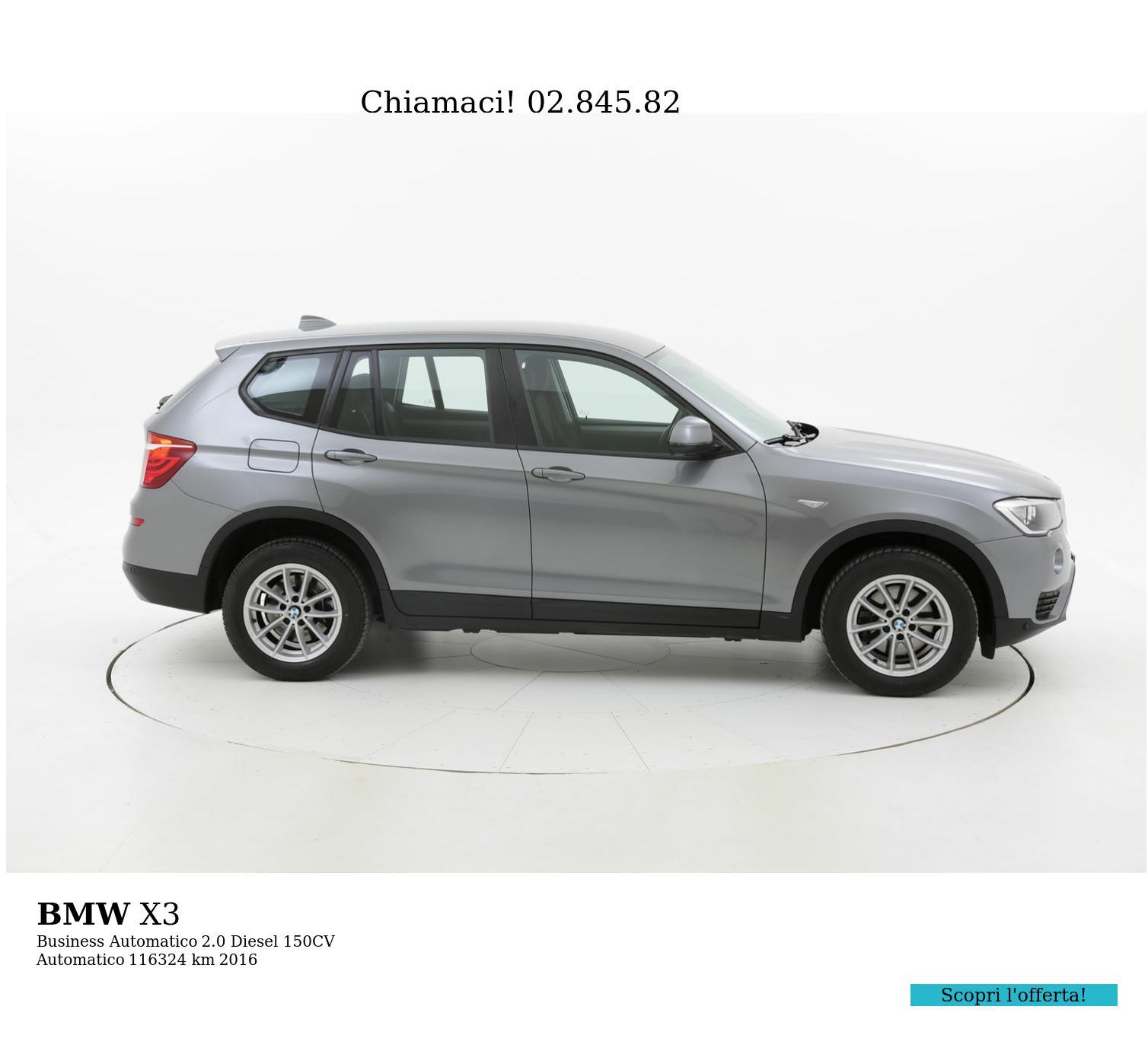BMW X3 usata del 2016 con 117.234 km | brumbrum
