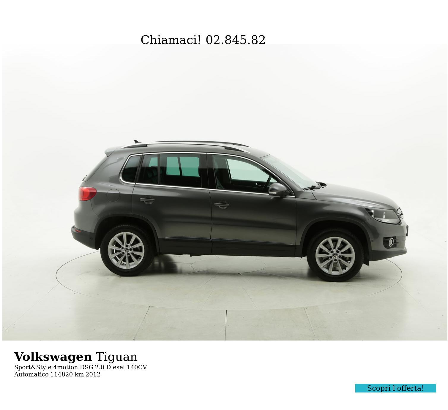 Volkswagen Tiguan usata del 2012 con 114.913 km | brumbrum