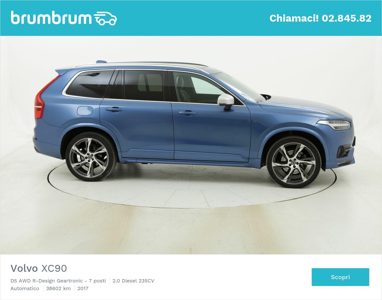 Volvo XC90 usata del 2017 con 39.110 km   brumbrum