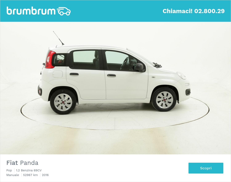 Fiat Panda Pop usata del 2016 con 52.976 km | brumbrum