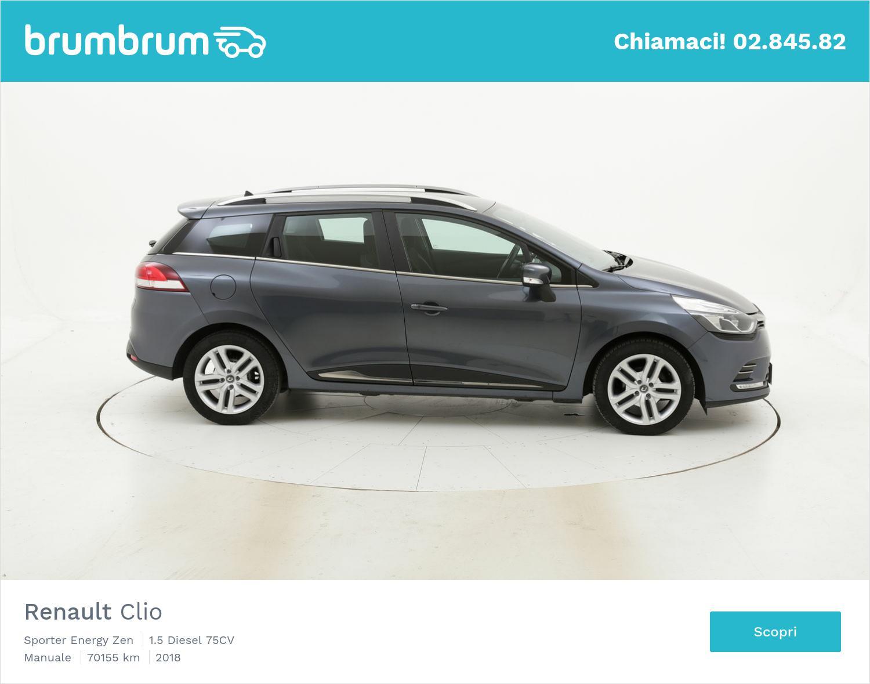 Renault Clio usata del 2018 con 70.483 km   brumbrum