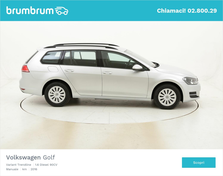 Volkswagen Golf Variant Trendline usata del 2016 con 77.862 km | brumbrum