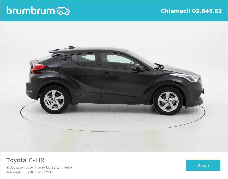 Toyota C-HR usata del 2017 con 25.903 km   brumbrum