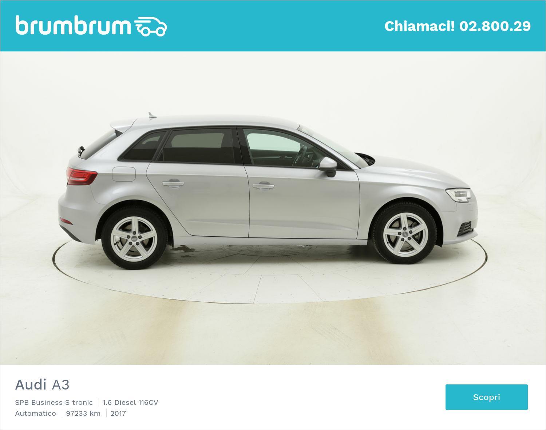 Audi A3 SPB Business S tronic usata del 2017 con 97.939 km | brumbrum