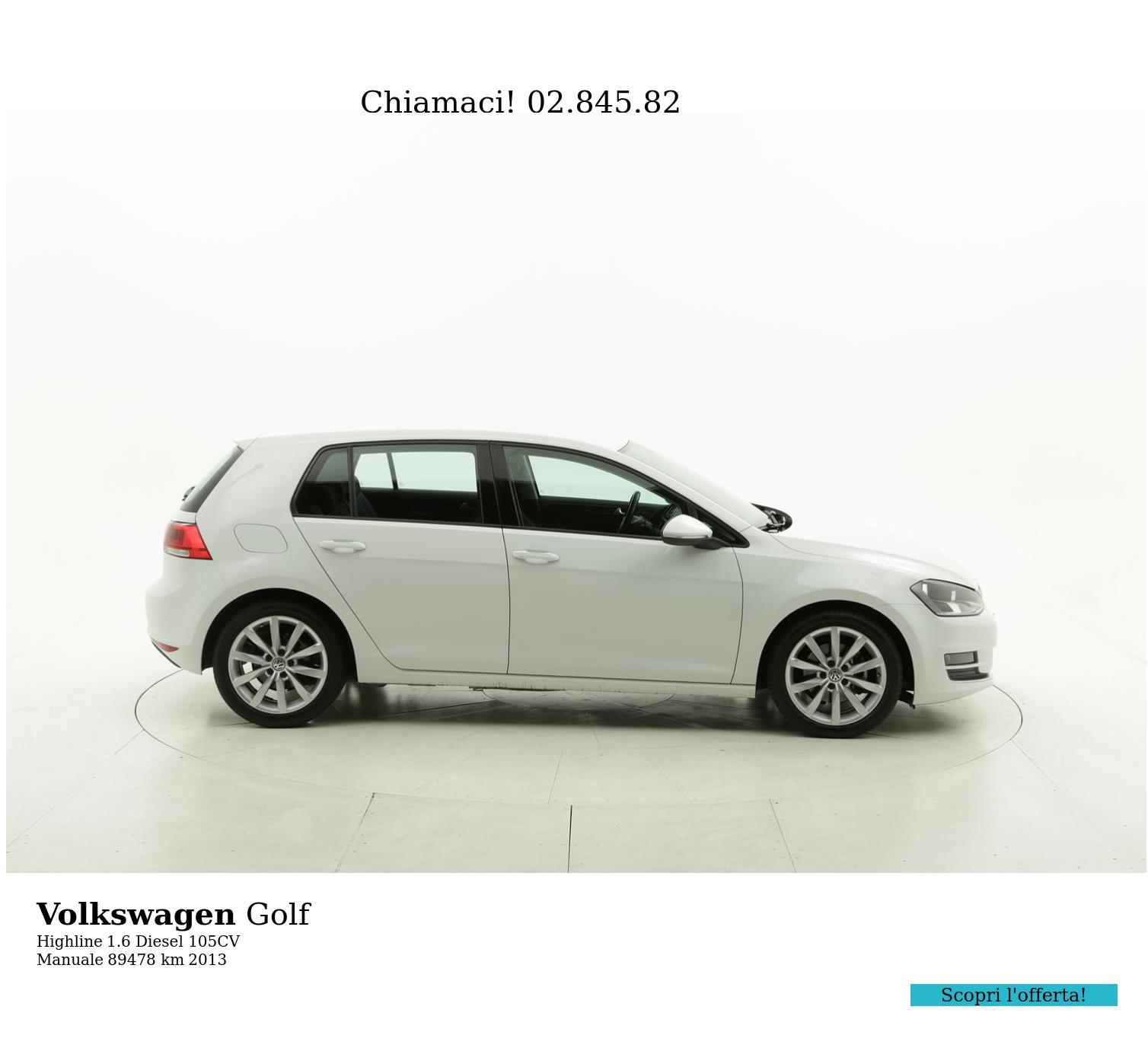 Volkswagen Golf usata del 2013 con 90.168 km | brumbrum