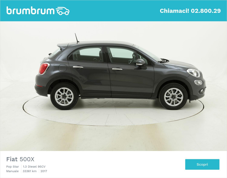 Fiat 500X usata del 2017 con 33.403 km | brumbrum