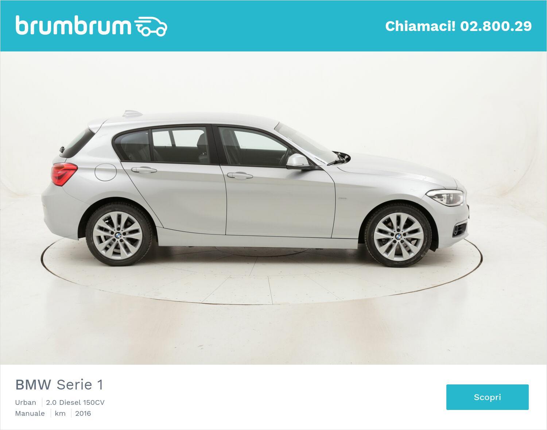 BMW Serie 1 Urban usata del 2016 con 115.494 km | brumbrum