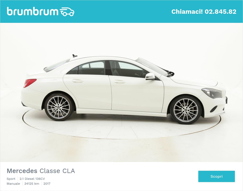 Mercedes Classe CLA usata del 2017 con 34.592 km | brumbrum