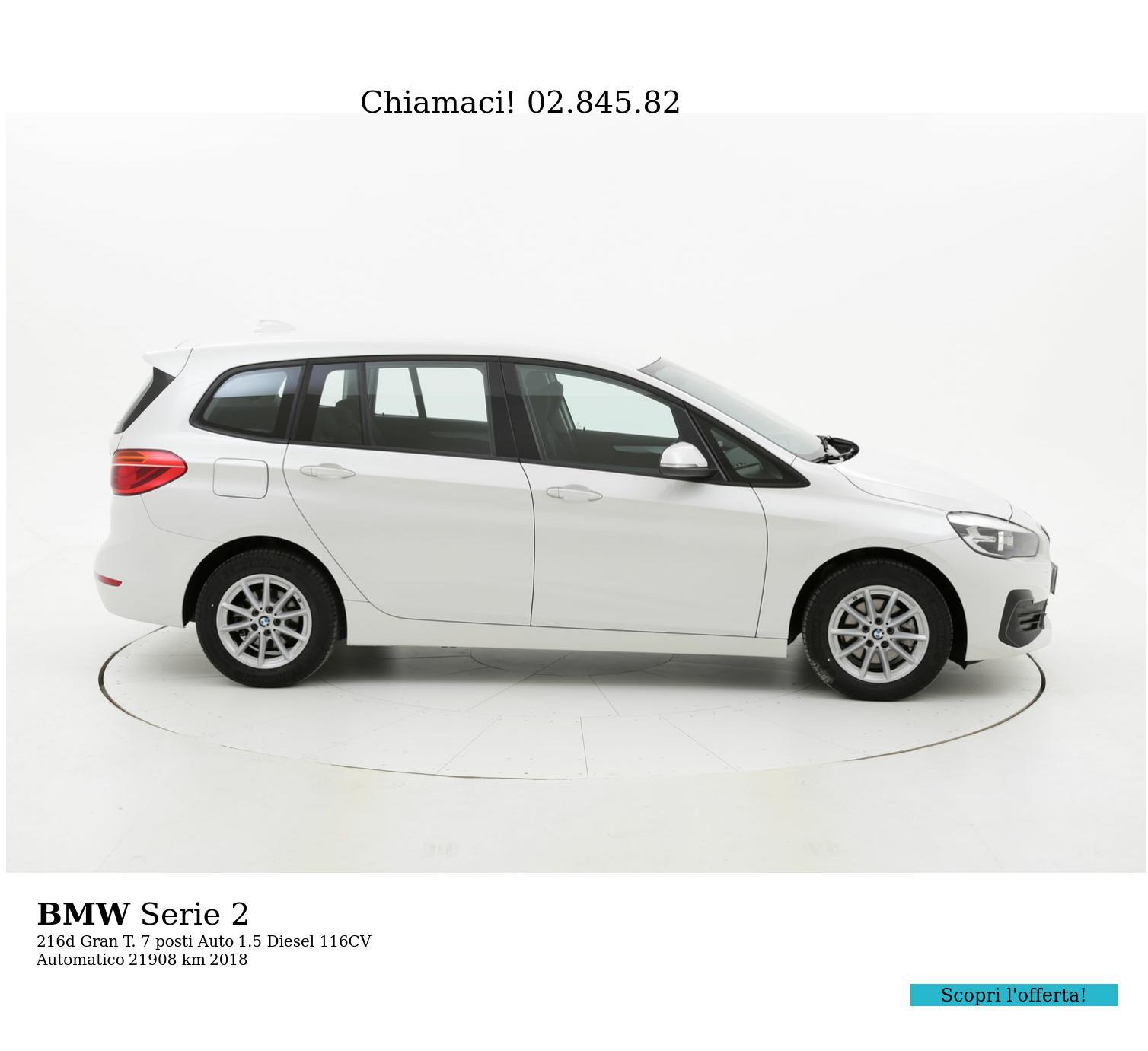 BMW Serie 2 usata del 2018 con 22.499 km   brumbrum