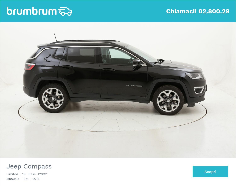 Jeep Compass Limited usata del 2018 con 42.986 km | brumbrum