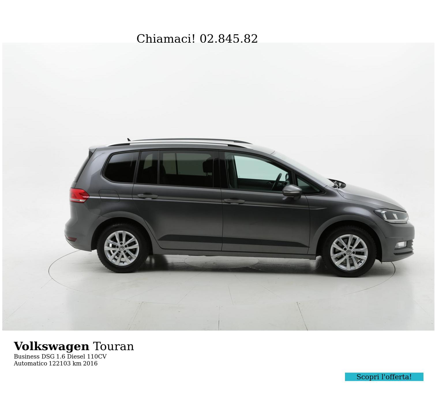 Volkswagen Touran usata del 2016 con 122.759 km   brumbrum