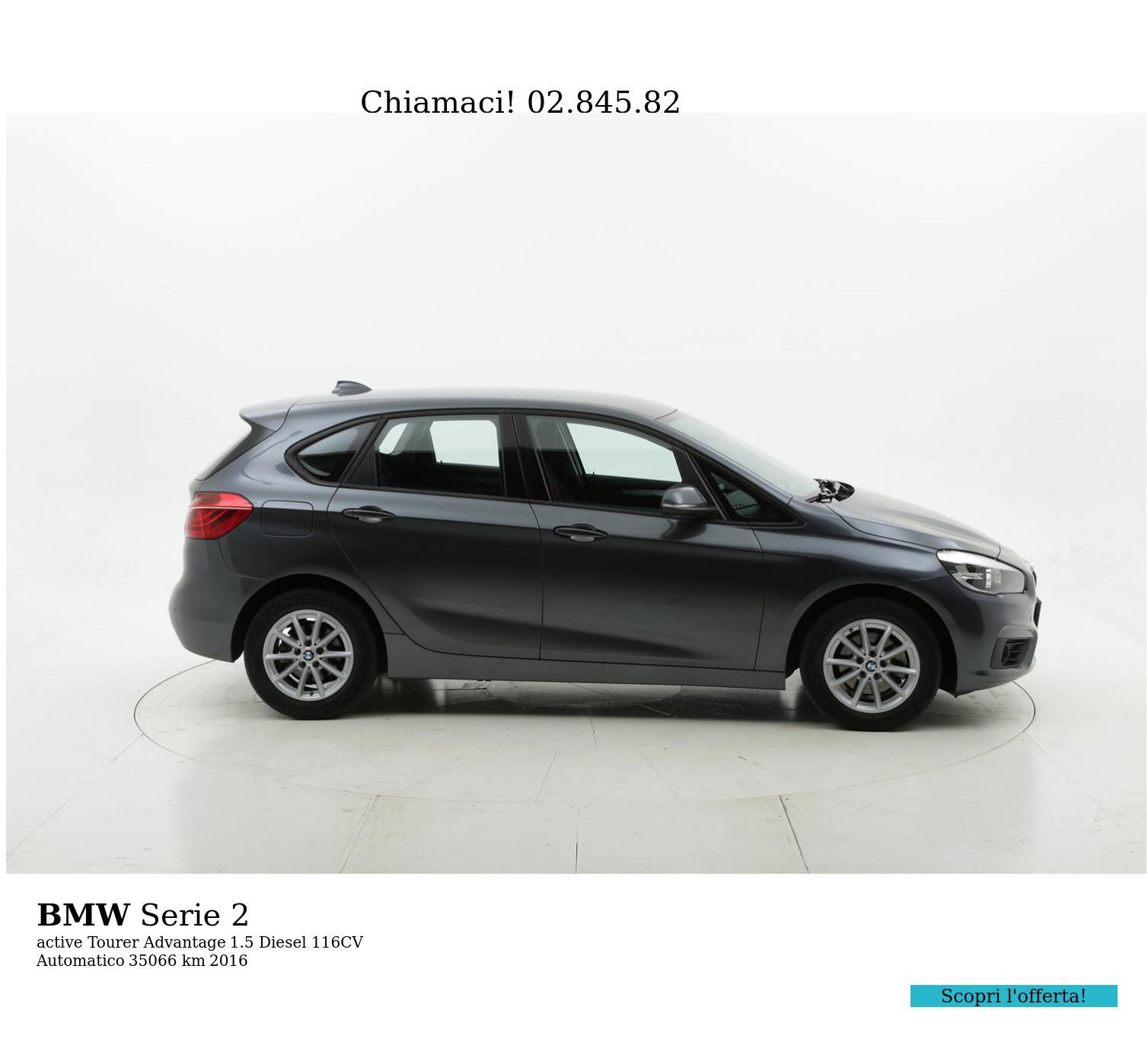 BMW Serie 2 usata del 2016 con 35.114 km   brumbrum