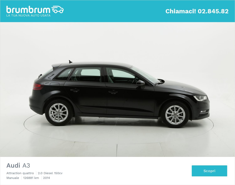 Audi A3 usata del 2014 con 127.074 km | brumbrum