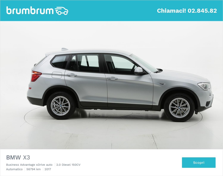 BMW X3 usata del 2017 con 56.884 km | brumbrum
