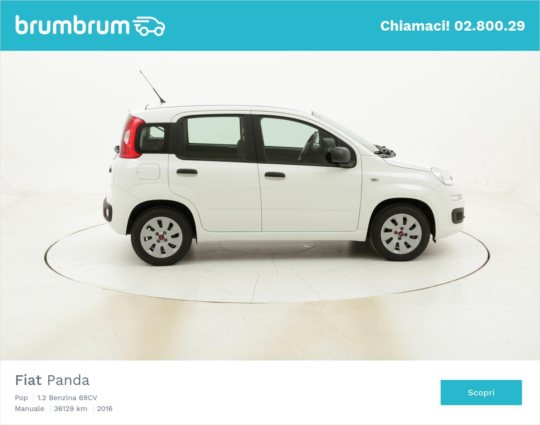 Fiat Panda Pop usata del 2016 con 36.189 km | brumbrum