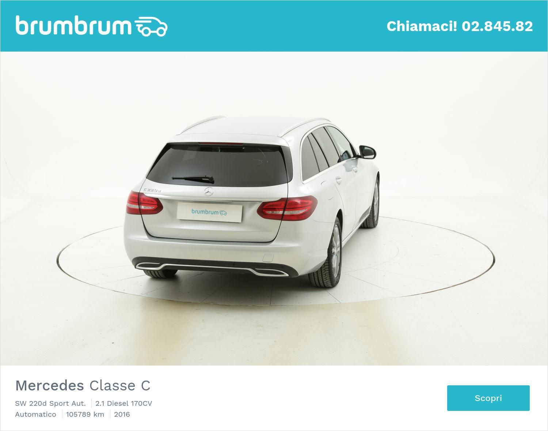 Mercedes Classe C usata del 2016 con 106.007 km | brumbrum