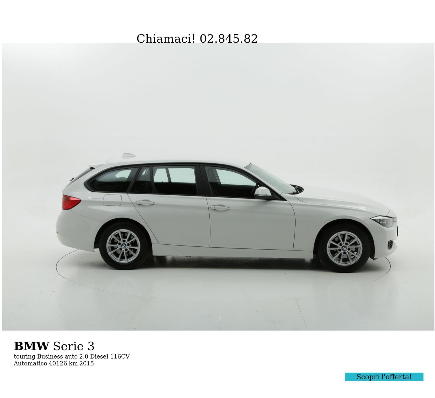 BMW Serie 3 usata del 2015 con 40.177 km | brumbrum
