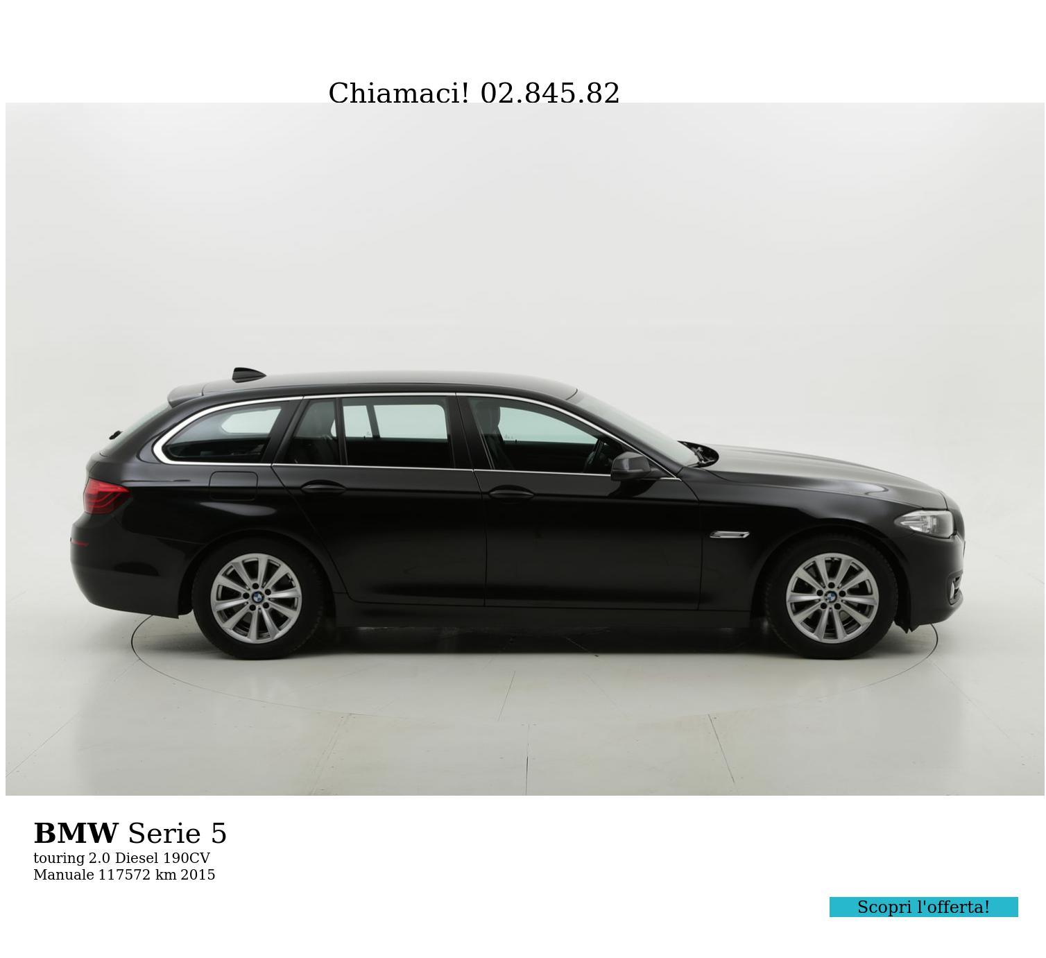 BMW Serie 5 usata del 2015 con 117.634 km | brumbrum
