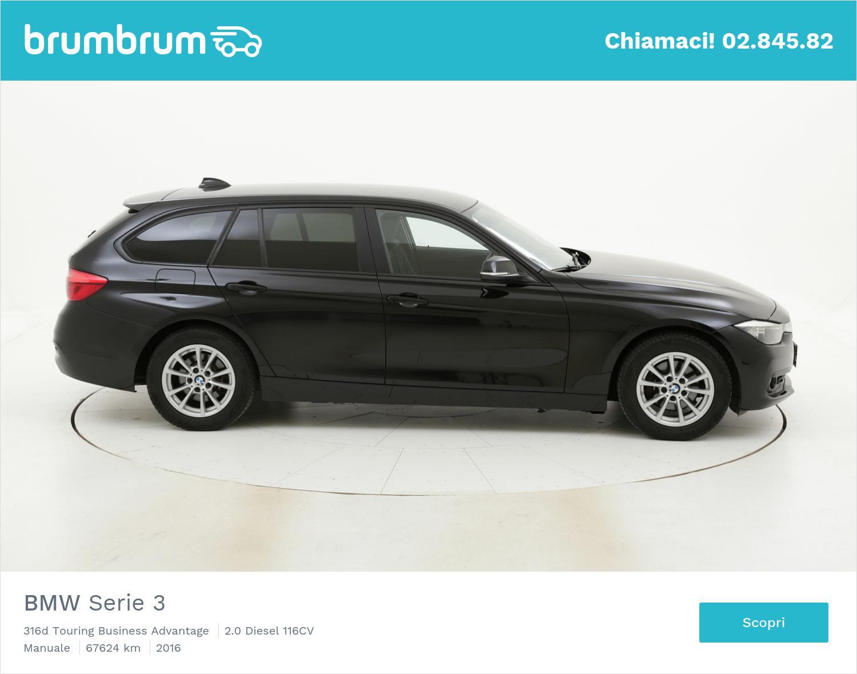 BMW Serie 3 usata del 2016 con 67.643 km | brumbrum