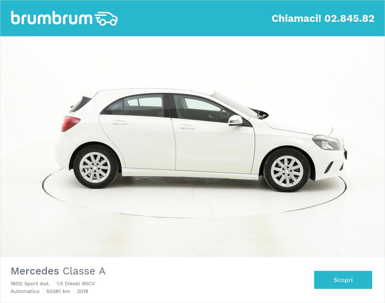 Mercedes Classe A usata del 2016 con 50.481 km | brumbrum