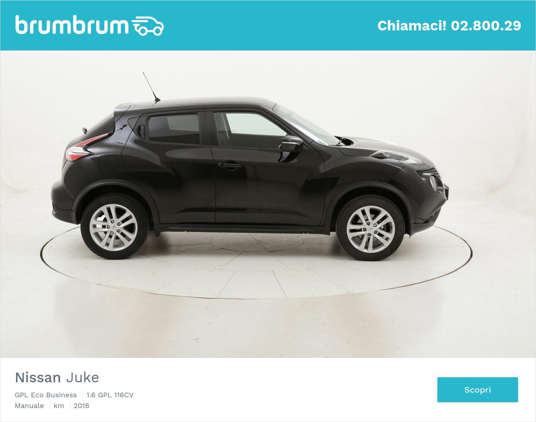 Nissan Juke GPL Eco Business usata del 2018 con 81.320 km   brumbrum