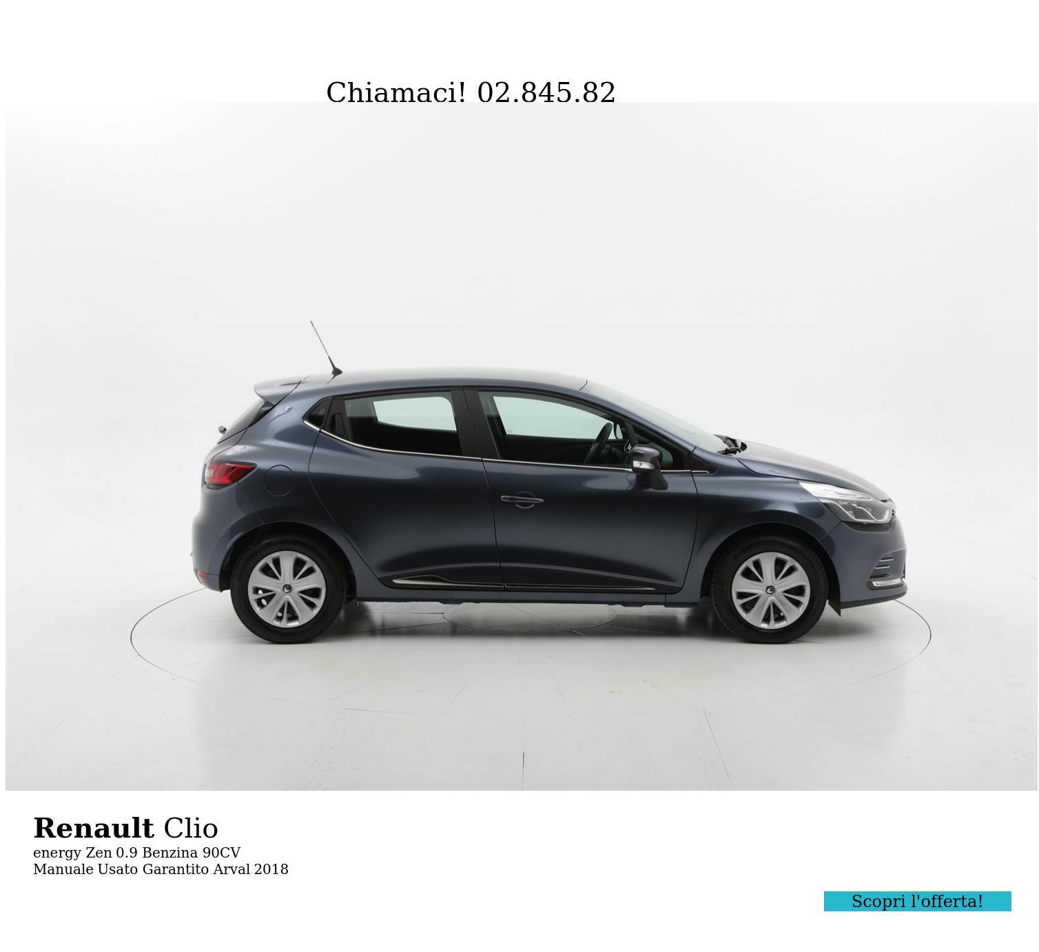 Renault Clio energy Zen km 0 benzina antracite | brumbrum