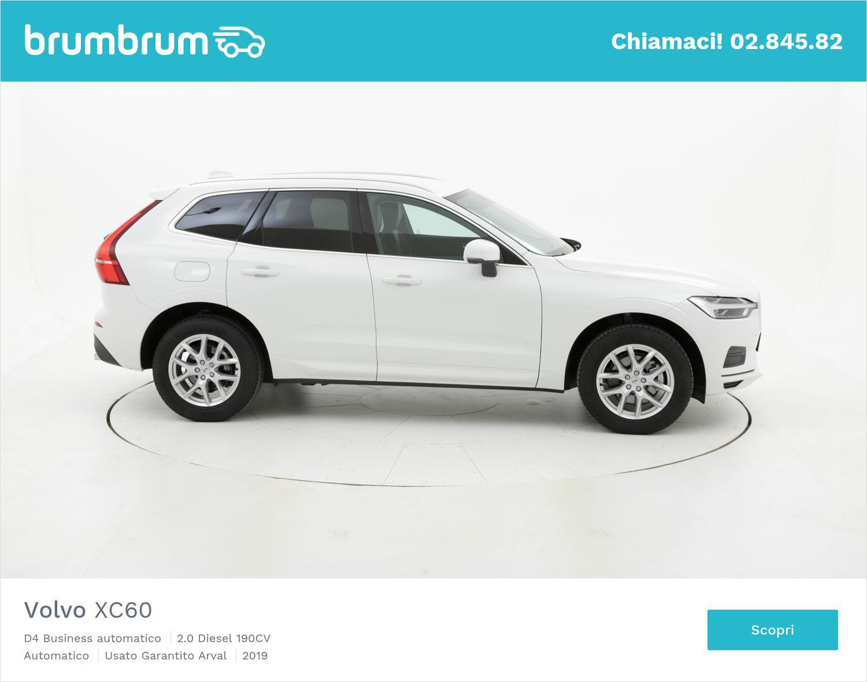 Volvo XC60 D4 Business automatico km 0 diesel bianca | brumbrum