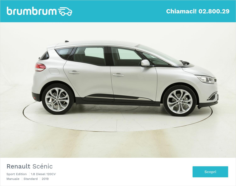 Renault Scénic Sport Edition km 0 diesel grigia | brumbrum