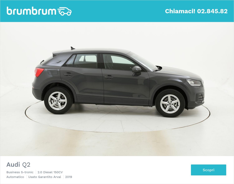 Audi Q2 Business S-tronic km 0 diesel grigia | brumbrum