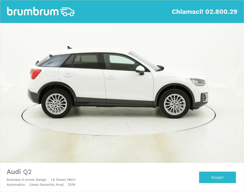 Audi Q2 Business S-tronic Design km 0 diesel bianca | brumbrum