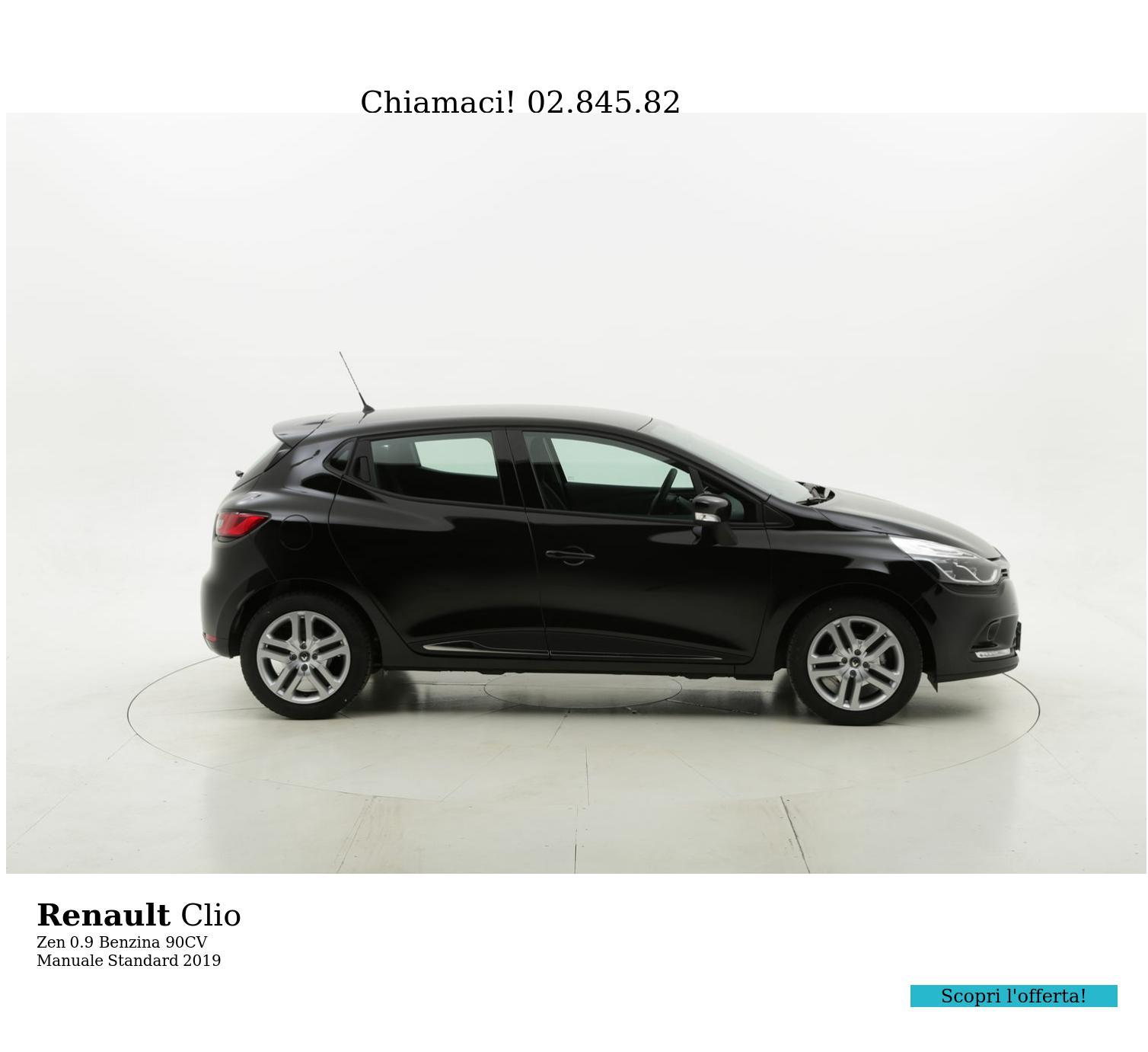 Renault Clio Zen km 0 benzina nera | brumbrum
