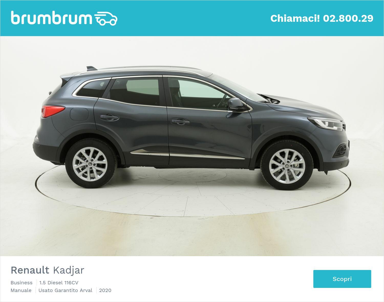 Renault Kadjar Business km 0 diesel grigia | brumbrum