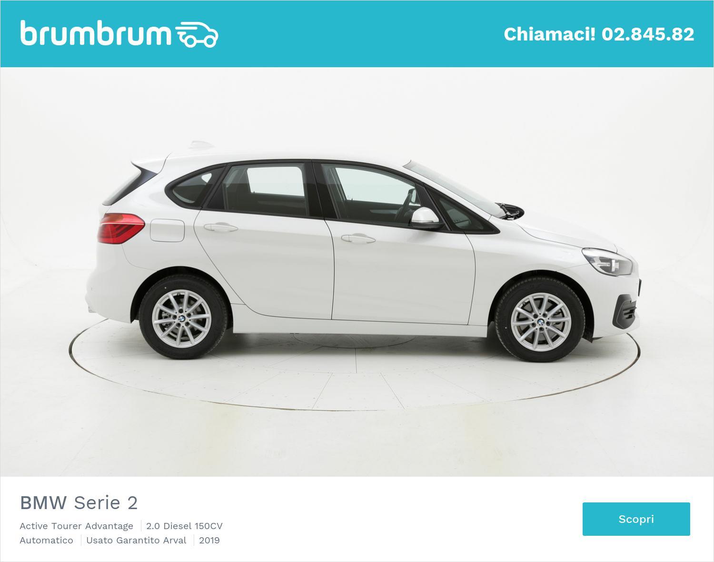 BMW Serie 2 Active Tourer Advantage km 0 diesel bianca | brumbrum