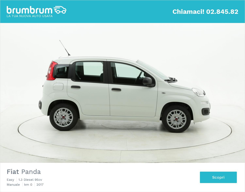Fiat Panda Easy km 0 diesel bianca | brumbrum