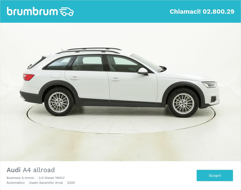 Audi A4 allroad Business S-tronic km 0 diesel bianca | brumbrum