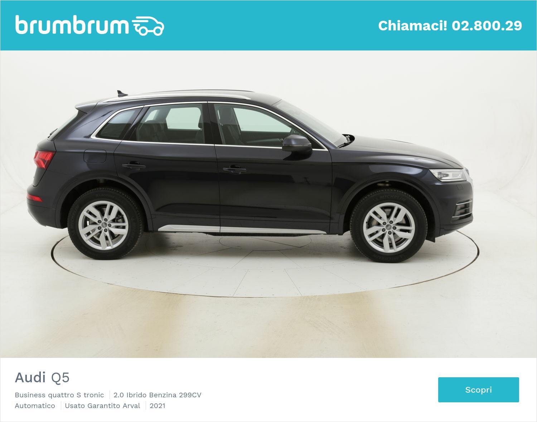 Audi Q5 Business quattro S tronic km 0 ibrido benzina blu   brumbrum