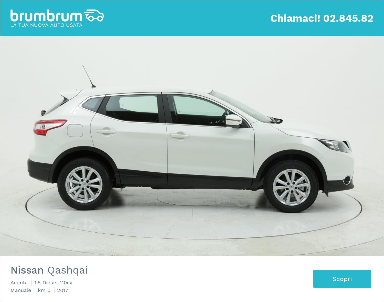 Nissan Qashqai Acenta km 0 diesel bianca | brumbrum