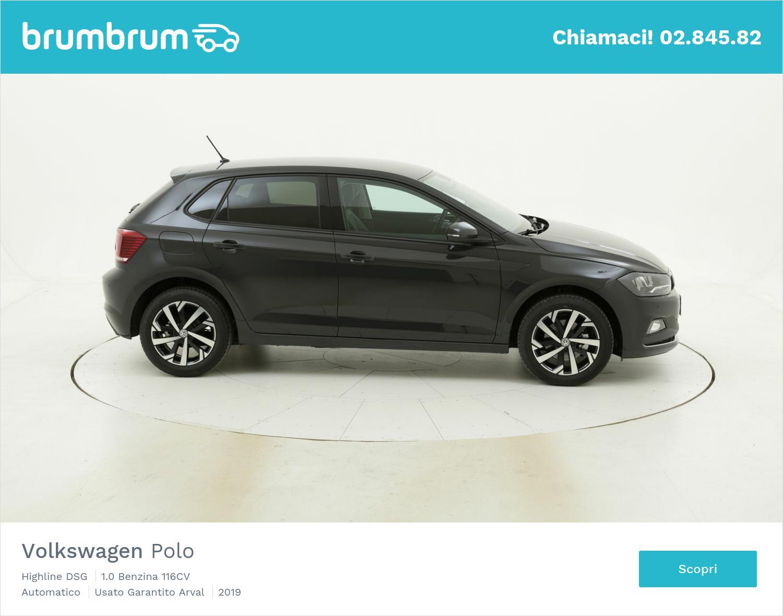 Volkswagen Polo Highline DSG km 0 benzina grigia | brumbrum