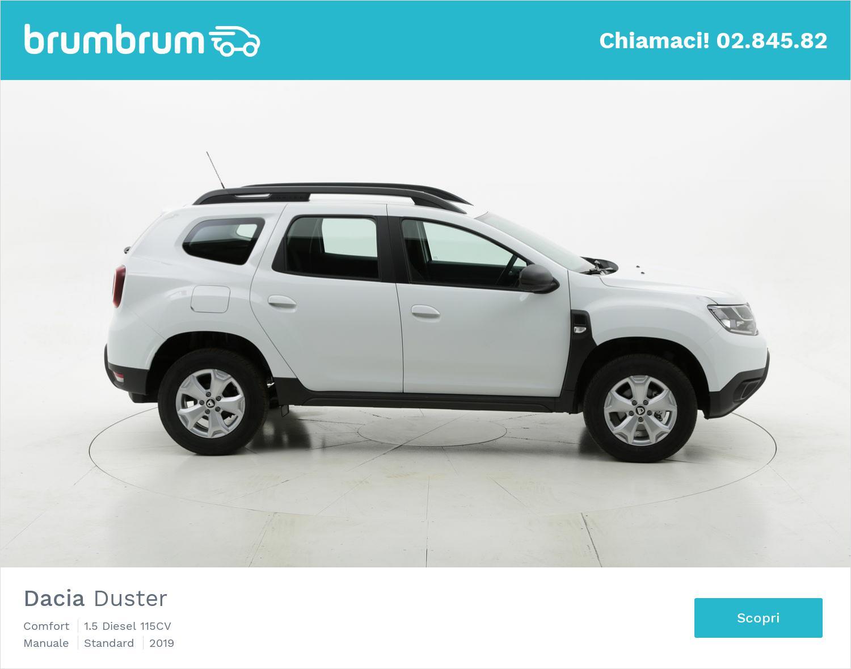 Dacia Duster Comfort km 0 diesel bianca | brumbrum