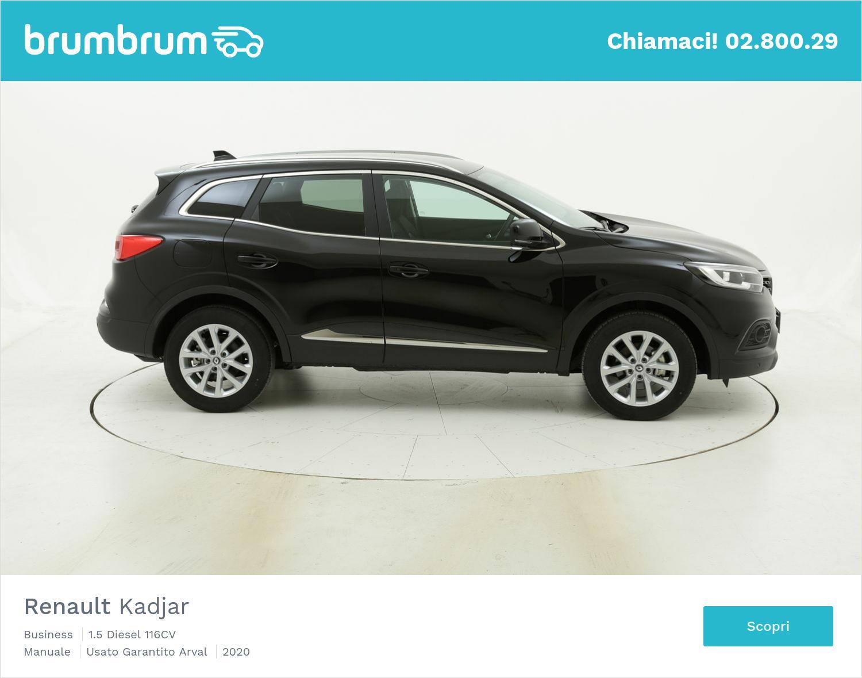 Renault Kadjar Business km 0 diesel nera | brumbrum