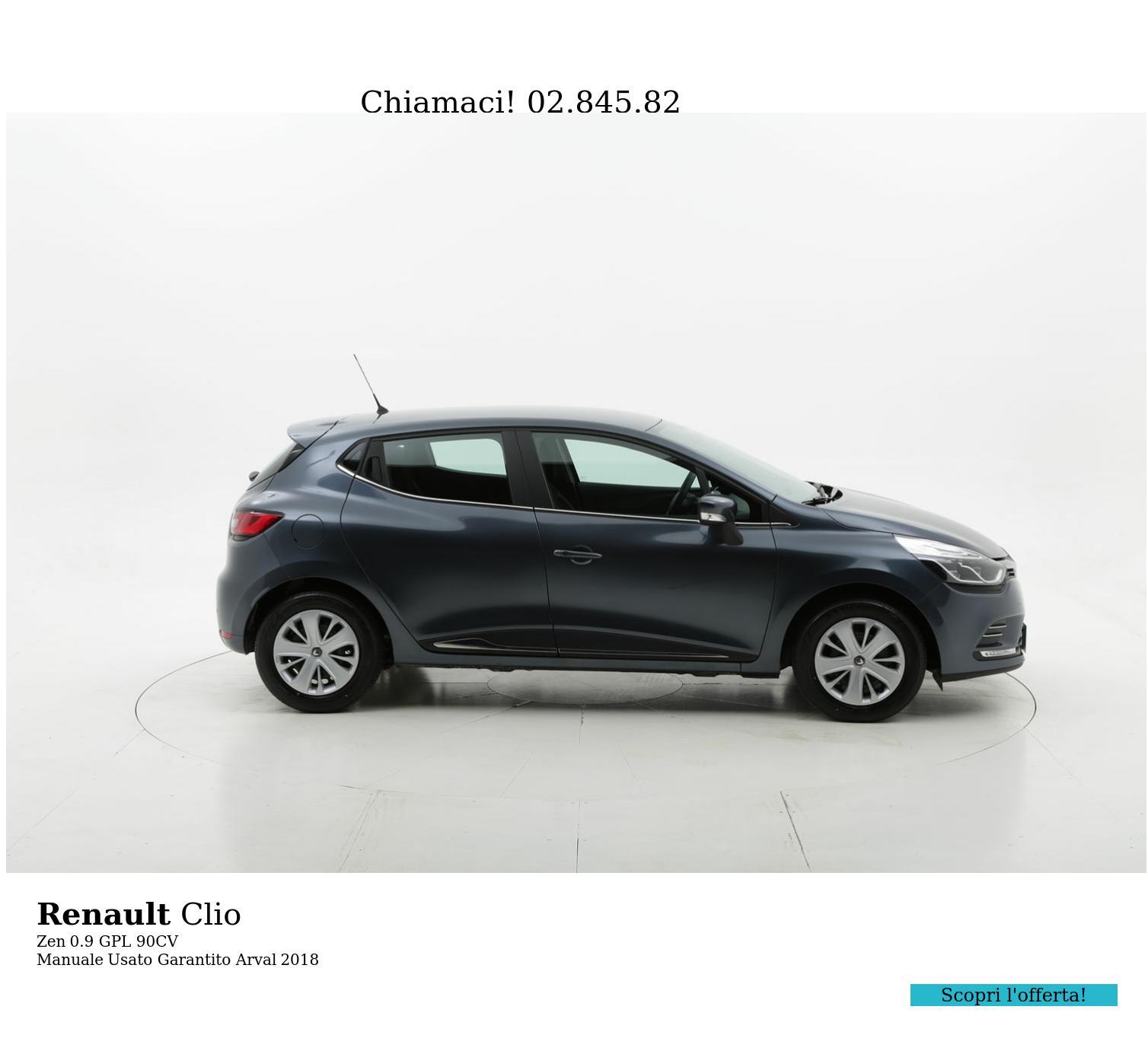Renault Clio Zen km 0 gpl antracite | brumbrum