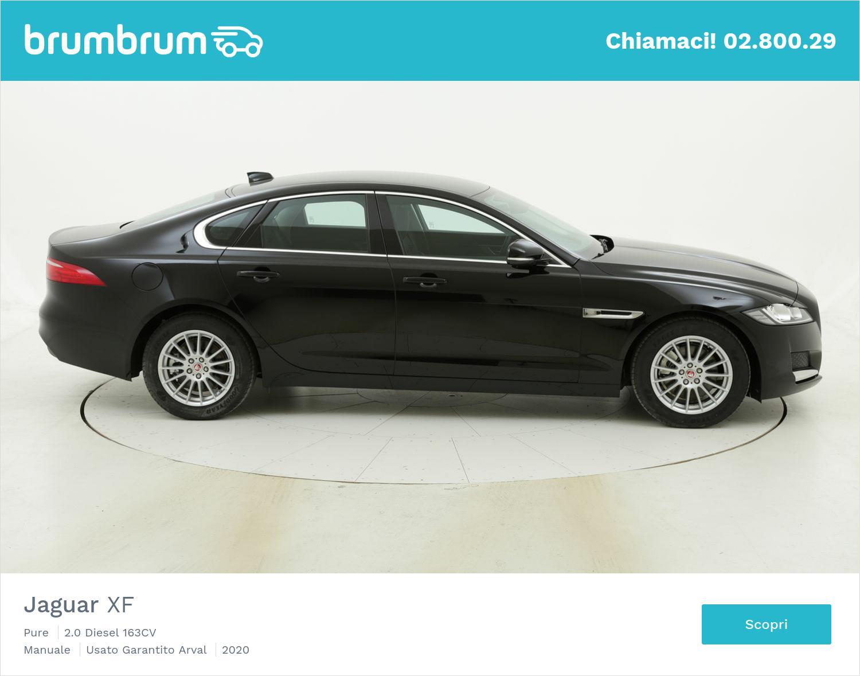 Jaguar XF Pure km 0 diesel nera | brumbrum