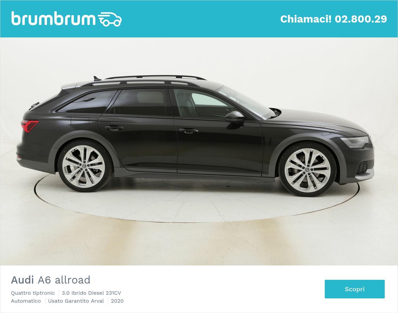 Audi A6 allroad Quattro tiptronic km 0 ibrido diesel grigia | brumbrum